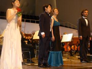 Die Solisten der HfM Dresden begeistern die Zuschauer. Bild: LF Fritz Alter.